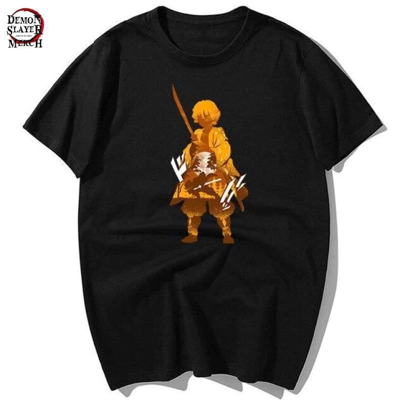 zenitsu agatsuma shirt demon slayer merch 804